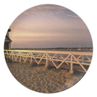 North America, USA, Massachusetts, Nantucket 3 Dinner Plate