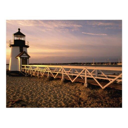 North America, USA, Massachusetts, Nantucket 3 Postcards