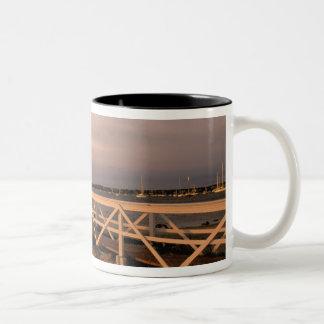 North America, USA, Massachusetts, Nantucket 3 Two-Tone Coffee Mug