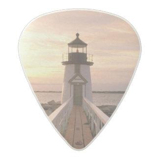 North America, USA, Massachusetts, Nantucket 4 Acetal Guitar Pick