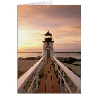 North America, USA, Massachusetts, Nantucket 4 Greeting Card