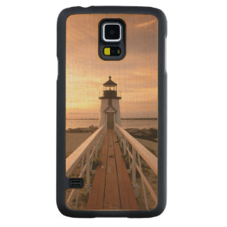 North America, USA, Massachusetts, Nantucket 4 Carved® Maple Galaxy S5 Slim Case