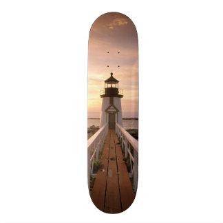 North America, USA, Massachusetts, Nantucket 4 Custom Skateboard