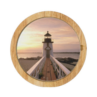 North America, USA, Massachusetts, Nantucket 4 Round Cheese Board