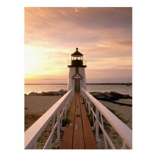 North America, USA, Massachusetts, Nantucket 4 Postcards