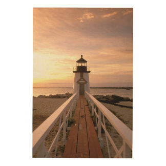 North America, USA, Massachusetts, Nantucket 4 Wood Canvases