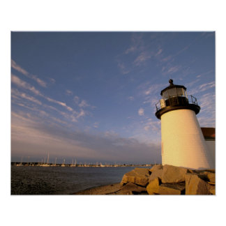North America, USA, Massachusetts, Nantucket Poster