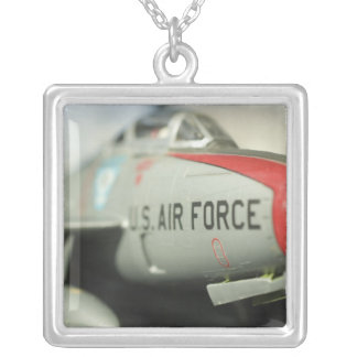 North America, USA, Model Show Silver Plated Necklace