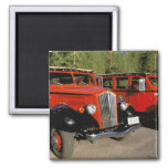 North America, USA, Montana. Classic 1934 Ford 2 Inch Square Magnet