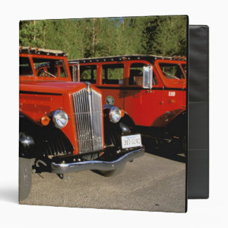 North America, USA, Montana. Classic 1934 Ford 3 Ring Binder