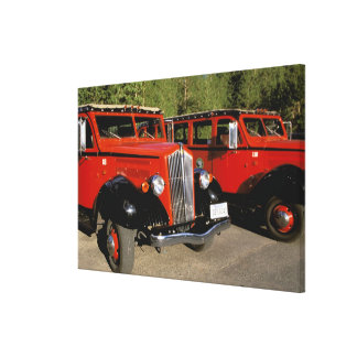 North America, USA, Montana. Classic 1934 Ford Canvas Print