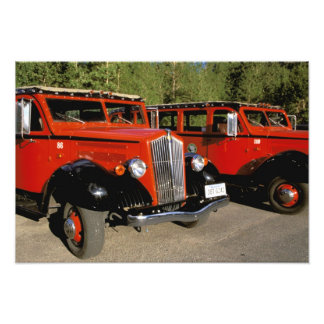North America, USA, Montana. Classic 1934 Ford Photo Print