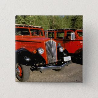 North America, USA, Montana. Classic 1934 Ford Pinback Button