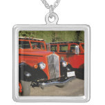 North America, USA, Montana. Classic 1934 Ford Square Pendant Necklace