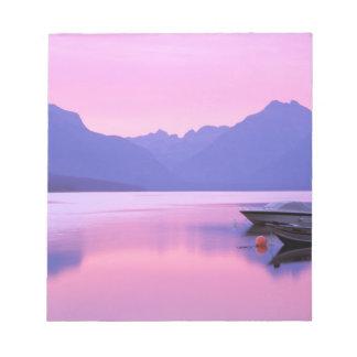 North America, USA, Montana, Glacier National 2 Notepad