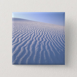 North America, USA, New Mexico, White Sand Dunes Pinback Button