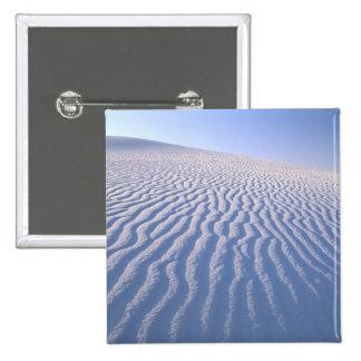North America, USA, New Mexico, White Sand Dunes Pinback Button