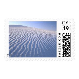 North America, USA, New Mexico, White Sand Dunes Postage