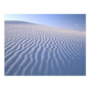USA Themed North America, USA, New Mexico, White Sand Dunes Postcard