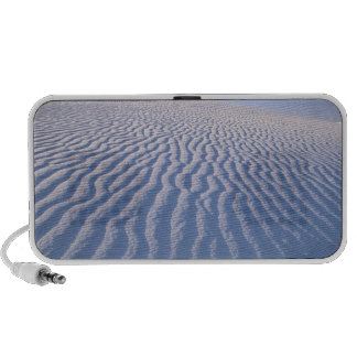 North America, USA, New Mexico, White Sand Dunes Portable Speakers