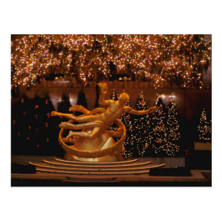North America, USA, New York, New York City. 6 Postcard