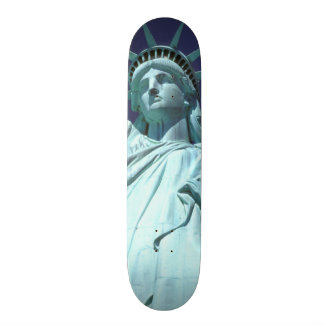 North America, USA, New York, New York City. 7 Skateboard Deck
