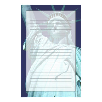 North America, USA, New York, New York City. 7 Personalized Stationery