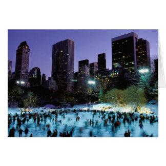 North America, USA, New York, New York City. 9 Card