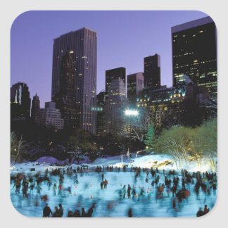 North America, USA, New York, New York City. 9 Sticker