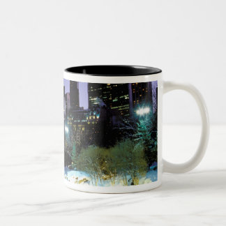 North America, USA, New York, New York City. 9 Two-Tone Coffee Mug