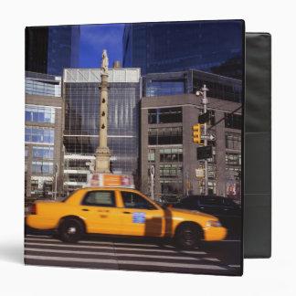 North America, USA, New York, New York City Vinyl Binder