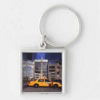North America, USA, New York, New York City Keychain
