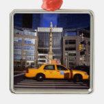 North America, USA, New York, New York City Metal Ornament