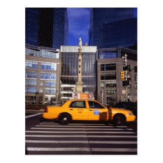 North America, USA, New York, New York City Postcard
