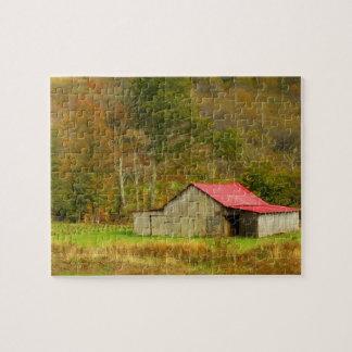 North America, USA, North Carolina, rural Jigsaw Puzzle