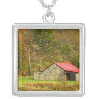 North America, USA, North Carolina, rural Square Pendant Necklace