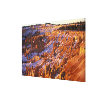 North America, USA, Utah, Bryce Canyon 2 Stretched Canvas Print