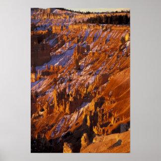 North America, USA, Utah, Bryce Canyon Poster