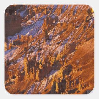 North America, USA, Utah, Bryce Canyon Square Sticker