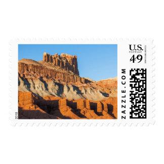 North America, USA, Utah, Torrey, Capitol Reef 3 Postage Stamp