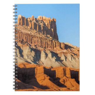 North America, USA, Utah, Torrey, Capitol Reef 3 Spiral Notebook