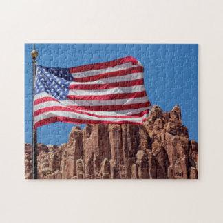 North America, USA, Utah, Torrey, Capitol Reef Puzzle