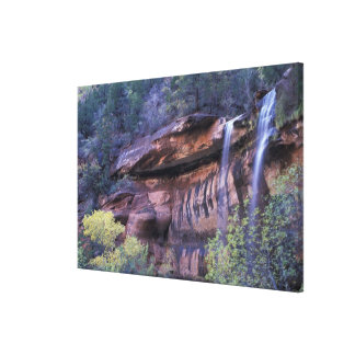 North America, USA, Utah, Zion National Park. 2 Canvas Print