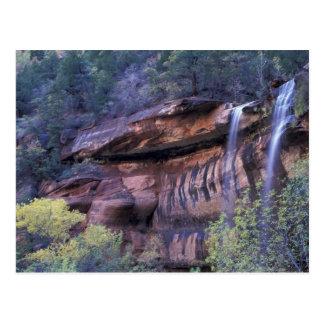 North America, USA, Utah, Zion National Park. 3 Postcard