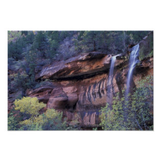North America, USA, Utah, Zion National Park. 3 Poster