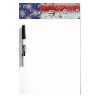North America, USA, WA, Redmond, U.S. Flag Dry-Erase Board