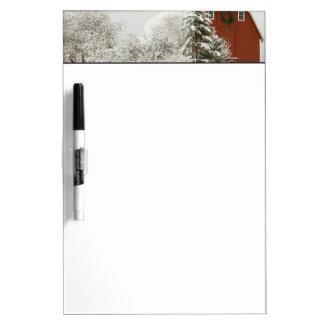 North America, USA, WA, Whidbey Island. Dry-Erase Board