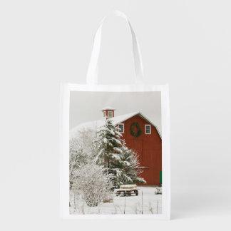North America, USA, WA, Whidbey Island. Grocery Bag