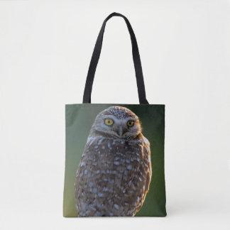 North America; USA; Washington, Burrowing Owl Tote Bag