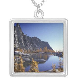 North America, USA, Washington, Enchantment Personalized Necklace